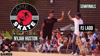 getlinkyoutube.com-PJ Ladd vs. Nyjah Huston Game of Skate Semis - X Games