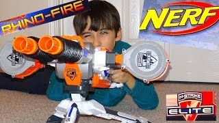 getlinkyoutube.com-Robert-Andre's Nerf N-Strike Elite XD Rhino-Fire Blaster