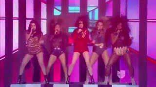 getlinkyoutube.com-Fifth Harmony - Worth It / Dame Esta Noche (Live @ La Banda 13/12/2015)