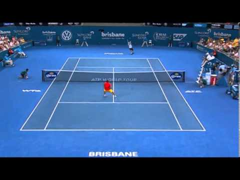 Hewitt v Copil - Highlights  Quarter Finals: Brisbane International 2014