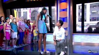 getlinkyoutube.com-Me & You by Tyler James Williams & Coco Jones on Good Morning America 06/13/2012