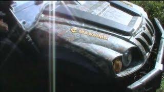 getlinkyoutube.com-BRAND NEW MASSIMO MSU-700 EFI UTV SIDE BY SIDE OUT ON TRAILS