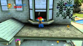 getlinkyoutube.com-LEGO City Undercover 100% Guide - Cherry Tree Hills (Overworld Area) - All Collectibles