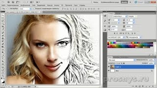 getlinkyoutube.com-Из фотографии рисунок карандашом за 3 шага