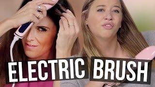 getlinkyoutube.com-Electric Straight Brush Unboxing (Beauty Break)