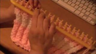 getlinkyoutube.com-Double Twisted Rib Stitch