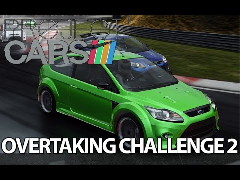 Ford Focus RS Wet Race - Project Cars Overtaking Challenge - Ep 2