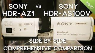 getlinkyoutube.com-Sony HDR-AZ1 vs Sony AS100V HD