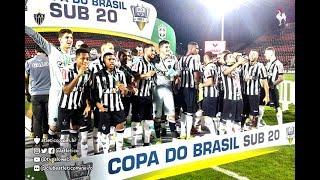 GALO CAMPEÃO! Copa do Brasil Sub-20: Gols de Flamengo 0 (1) x (3) 0 Atlético-MG