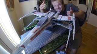 getlinkyoutube.com-Papercraft X-Wing