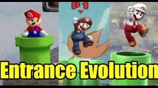 getlinkyoutube.com-Evolution of Entrances in Super Smash Bros (Comparison)