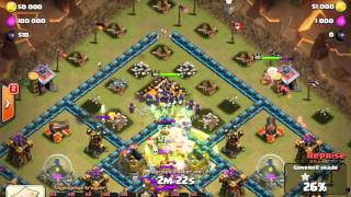 getlinkyoutube.com-HOW TO 3 STAR WITH WITCHES   Attack Strategy   Clash of Clans