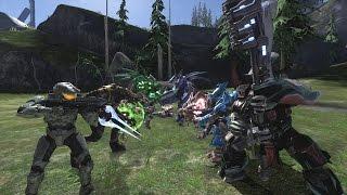 getlinkyoutube.com-Halo 3 AI Battle - The Great Schism