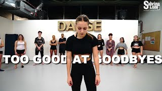 SAM SMITH - Too Good At Goodbyes| alicia moffet| Contemporary Jazz | Sabrina Lonis class choreo