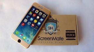 getlinkyoutube.com-iLoome ScreenMate Max Screen Protector for iPhone 6+: Edge to Edge Protection!