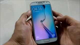 getlinkyoutube.com-How to convert Samsung Galaxy S4 into Galaxy S6