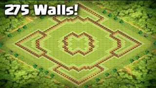 getlinkyoutube.com-Clash of Clans - INSANE Town Hall 10 Trophy/War Base | 275 Walls | Anti-Earthquake
