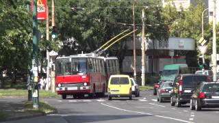 getlinkyoutube.com-Budapest Trolleybus - videomix with Ikarus 280T, ZiU9 & more [1080p]