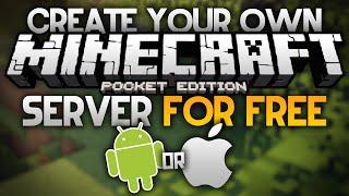 getlinkyoutube.com-CREATE A FREE SERVER for MCPE - Android & iOS (NO JAILBREAK) - Minecraft PE (Pocket Edition)