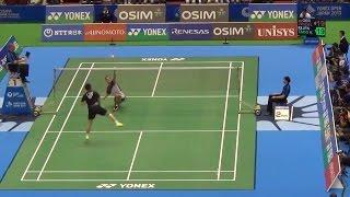 getlinkyoutube.com-TOP 5 Block Net Shot - Lee Chong Wei Marc Zwiebler Kenichi Tago - Badminton Incredible