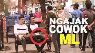 GILA!! NGAJAK COWOK ML with BRAM DERMAWAN - INDONESIA PRANK width=