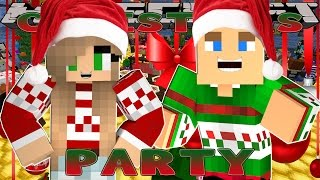 getlinkyoutube.com-Minecraft Christmas - Little Donny - SURPRISE CHRISTMAS PARTY w/ DONUT THE DOG