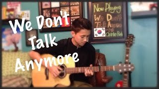getlinkyoutube.com-We Don't Talk Anymore - Charlie Puth Ft. Selena Gomez - Fingerstyle Guitar Cover