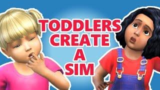 getlinkyoutube.com-The Sims 4 | TODDLERS CREATE A SIM! (Braces & vampire Skintones!)