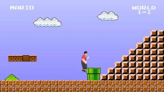 getlinkyoutube.com-Super Mario Bros - Green Screen  - HD