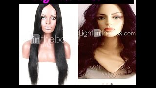 Lightinthebox wig Review