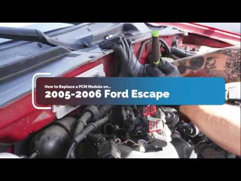 How to Replace PCM Module on 2005-2006 Ford Escape Mariner Tribute