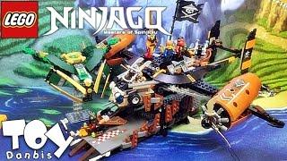 레고 닌자고 미스포춘의 함선 70605 스카이해적 해적선 조립 리뷰 Lego Ninjago Misfortune's Keep 2016 신제품