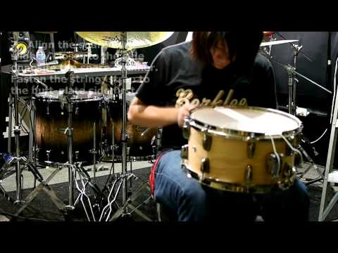 How to tune a SNARE drum - by Steven Chen