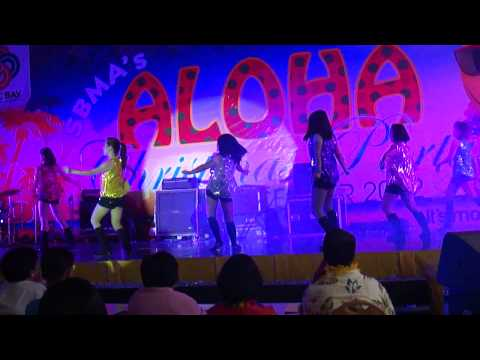 Dance Performance of ISG-SBMA Xmas Party 2012