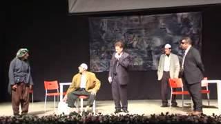 مسرحية صح لسانك للفنان حسين طبيشات على مسرح مركز اريحا للثقافة والفنون - مهرجان الميلاد الدولي