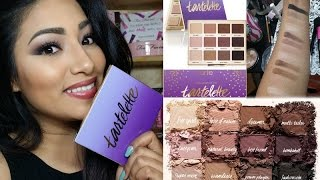 getlinkyoutube.com-NEW Tarte Tartelette Amazonian Clay Matte Palette Review + Makeup Tutorial + Swatches