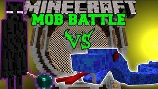 getlinkyoutube.com-ENDER LORD VS SEA VIPER & SHELOB - Minecraft Mob Battles - Legendary Beasts Mods
