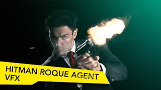 getlinkyoutube.com-Hitman Rogue Agent (Advanced Muzzle Flare VFX - SFX)