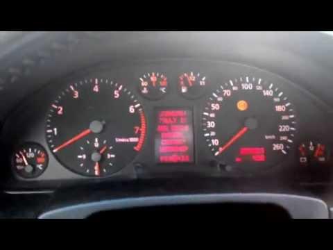 Audi A6 (4B,C5) 2.4 30V (165 Hp) ПРОБЛЕМ - ABS, обороти, масло - PROBLEM - ABS, rpm, oil