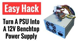 getlinkyoutube.com-How to Hack a Computer Power Supply To Use as a 12V DC Power Source