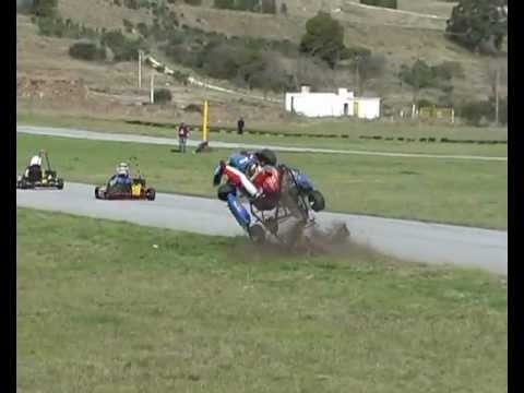 Accidente Karting Balcarce
