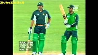 4 4 4 4 4 Abdul Razzaq vs Glenn McGrath 720p HD - 1999/00 Sydney