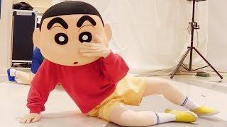 getlinkyoutube.com-いぬのおまわりさん クレヨンしんちゃんショー 【風間くんのヒミツだゾ~】劇中歌 曲 Creyon Shinchan Show Music