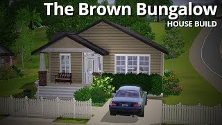 getlinkyoutube.com-The Sims 3 House Building - The Brown Bungalow