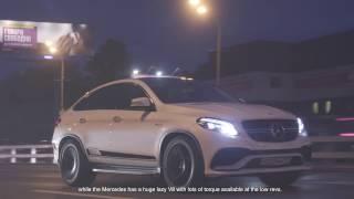 getlinkyoutube.com-DT Test Drive — Mercedes-AMG GLE 63 Coupe vs BMW X5 M