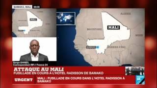 URGENT - Fusillade et prise d'otages en cours à l'hôtel Radisson de Bamako - MALI