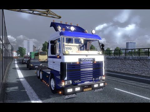 ETS 2   Scania Topline 143M   KPT   Skovgaard Driving