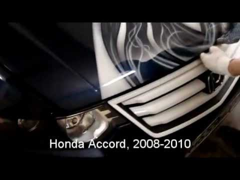 Замена габаритных огней Honda Accord marker lights replacement