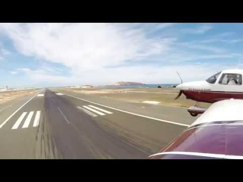 Low pass RWY 03L at El Gando airport