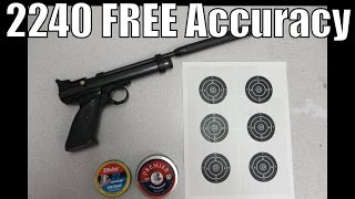 getlinkyoutube.com-Crosman 2240 FREE Accurizing Mods - How to Improve your accuracy for nothing!